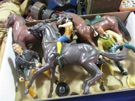 Vintage Hartland Western Figures