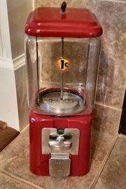 Vintage Acorn Gumball/Candy Machine