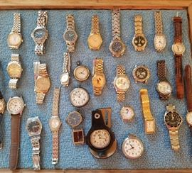 Huge selection of watches