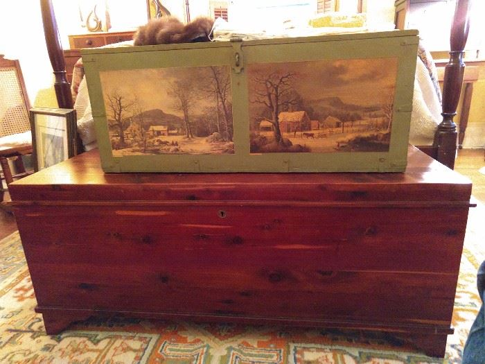 Cedar chests a-go-go in this house, we're now up to four.