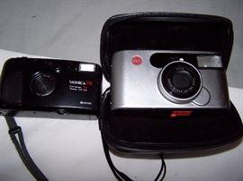 Yashica T4 Camera & Leica Camera