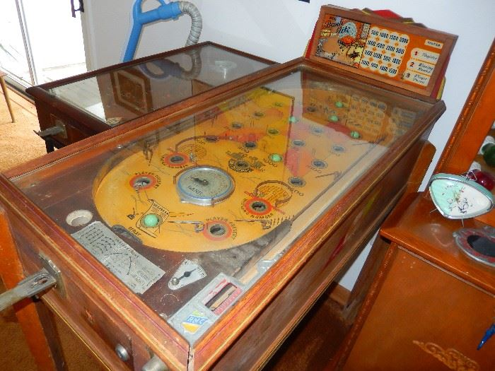 1936 Big Nite Bank Pinball