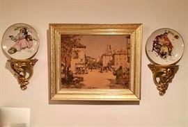 Vintage home decor & collectibles