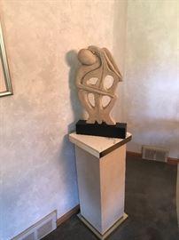 Décor with pedestal!