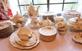 Rosenthal China   a complete set