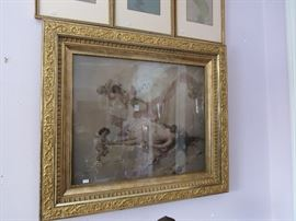 Fabulously Framed Art Nouveau and Victorian Prints