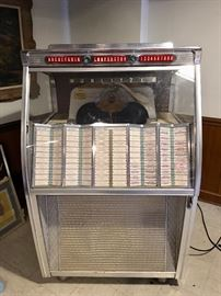 Wurlitzer - works well and is filled with great 45s