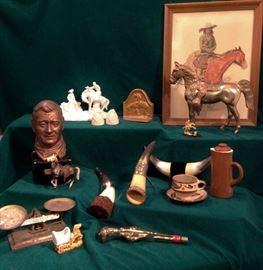 Western Americana items.