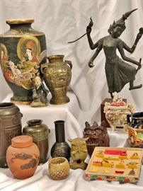 Wonderful collection of Asian items.