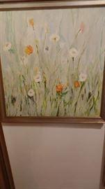 """Original Oil Painting 30"""" X 30"""""""