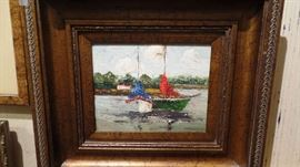 """Original Oil Painting, 20"""" x 15"""""""