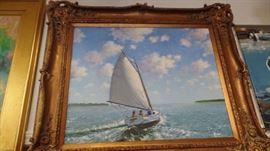 """Original Oil Painting, 30""""x 36"""""""