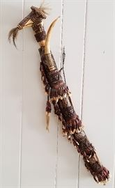 African Sword and Tooth Sheath