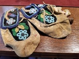 Indian Beaded Mocassins