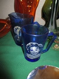 SHIRLEY TEMPLE DEPRESSION GLASS
