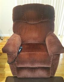 Lazyboy Electric Lift Chair with Heat and Massage