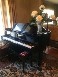 K. KAWA  baby grand piano