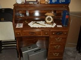 small size roll top desk
