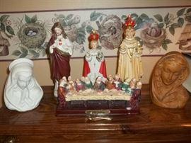 spiritual figurines
