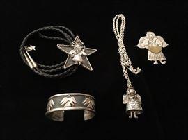 Vintage Carol Henry sterling jewelry