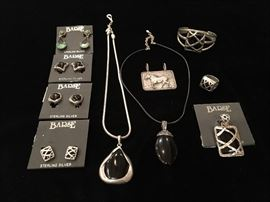 Vintage sterling Barse jewelry
