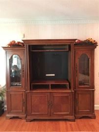 Haverty's Entertainment Center. Excellent condition.