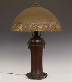 Handel table lamp
