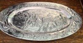 Arthur Court oval tray