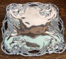 Arthur court platter
