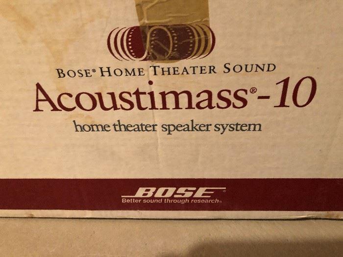 Bose Acoustimass 10 System