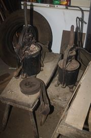 CAST IRON SAUAGE PRESS