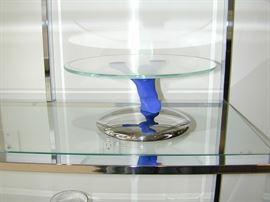 Art Glass Tazza