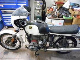 1970's BWM Motorcycle