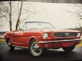 1966 Mustang convertible - $20,000 OBO - Will be sold before sale if acceptable offer is made.