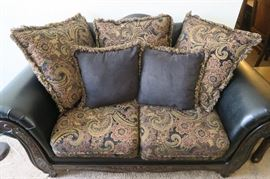 $1800 or best offer for the set which includes Sofa, Love Seat, Lounge chair, Coffee table and two matching end tables