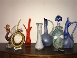 Murano Art Glass and more Mid-Century pieces