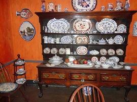 Welsh cabinet-dresser as it sat in Seller's house