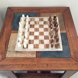 Quartz Carved Chess Set