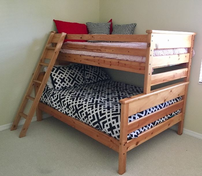 One of two Bunk Bed Sets, Queen & Twin!