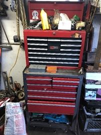 tool chest filled with tools