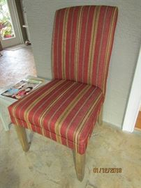 GORGEOUS SHERRILL RED CHAIR