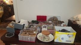 Lots of china, crystal & Glass