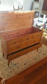 This is an awesome Lane Cedar Chest condition excellent