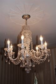 Schoenbeck Crystal Chandelier with Seven Arms