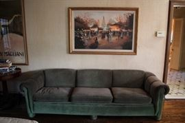 Sofa and Large Painting