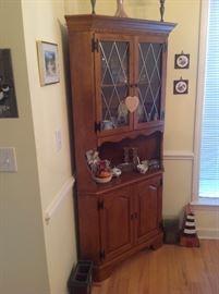 Antique Corner Cabinet $ 280.00