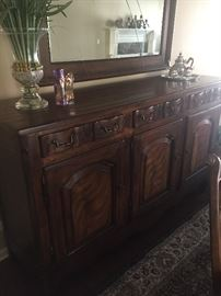 Drexel Heritage, Arezzo Credenza, Dark Antique finish.  From the Walter E. Smithe Tuscany Collection inspired by Frances Mayes, author, Under the Tuscan Sun.