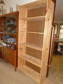 bookcase, we have a pair