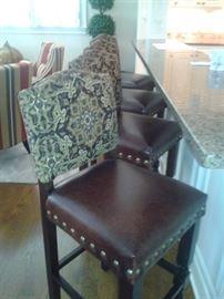 Tapestry Bar Stools-The Dump