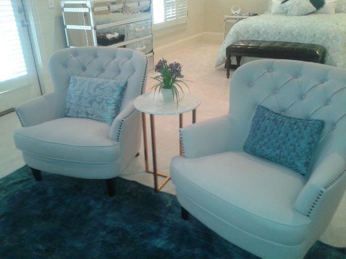 Chirsanna Wingback Chairs-Wayfair (online)